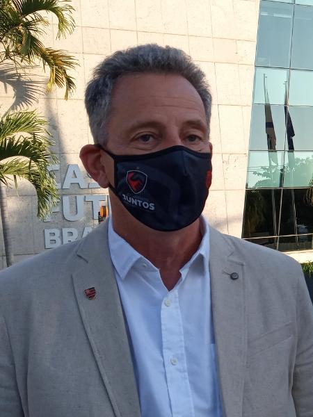 Rodolfo Landim, presidente do Flamengo - Igor Siqueira/UOL Esporte