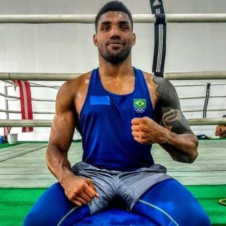Abner Teixeira da Silva, peso pesado da seleção de boxe que disputa as Olimpíadas de Tóquio - Reprodução/Instagram