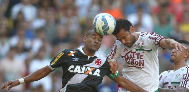 Rodrigo e Fred são desafetos públicos e já travaram duelos quentes em campo