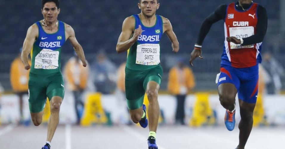O atleta tem vantagens genéticas como conseguir manter-se aumentando a velocidade por mais tempo que os rivais