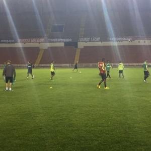 Atlético-MG já realizou um treino em Arequipa, no Peru, local da estreia na Libertadores