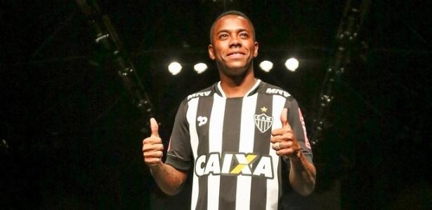 Robinho estreará pelo Atlético-MG nesta quarta-feira (24), diante do Independiente Del Valle, do Equador