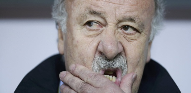 Vicente del Bosque admite favoritismo da Espanha na Eurocopa-16