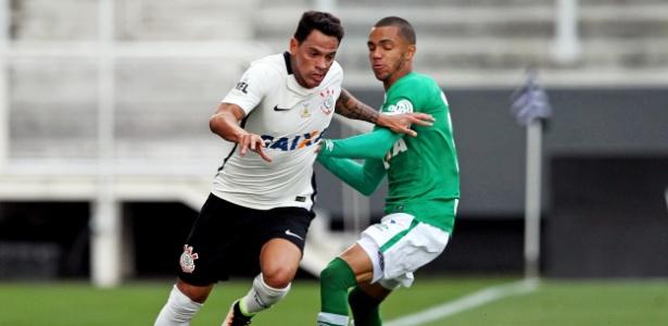 Meia foi o autor do gol no empate por 1 a 1 com a Chapecoense