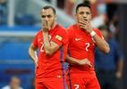 Após erro, Díaz vai às lágrimas e diz estar sofrendo com derrota do Chile - REUTERS/Carl Recine