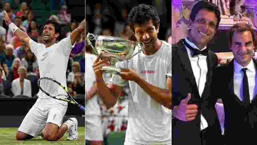 Marcelo Melo venceu Wimbledon pela primeira vez, voltou a ser nº 1 do mundo e viveu emoções para não esquecer - Getty Images e Reprodução/Instagram