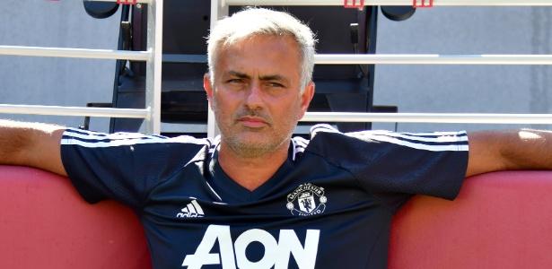 Mourinho observa treino do United durante pré-temporada nos Estados Unidos