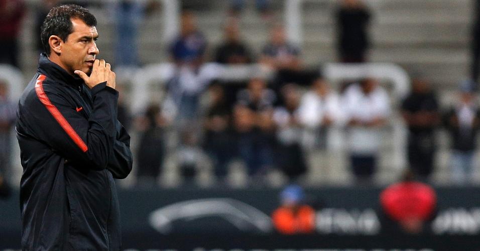 Campeonato Paulista | Carille admite incômodo com falta de vitórias e diz que 'busca time'