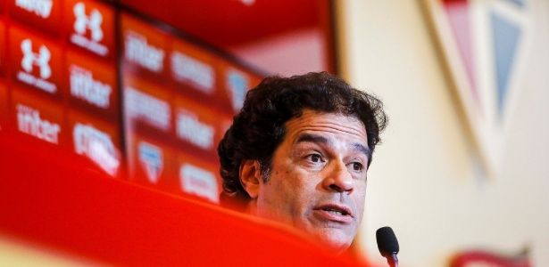 O diretor executivo de futebol do São Paulo, Raí