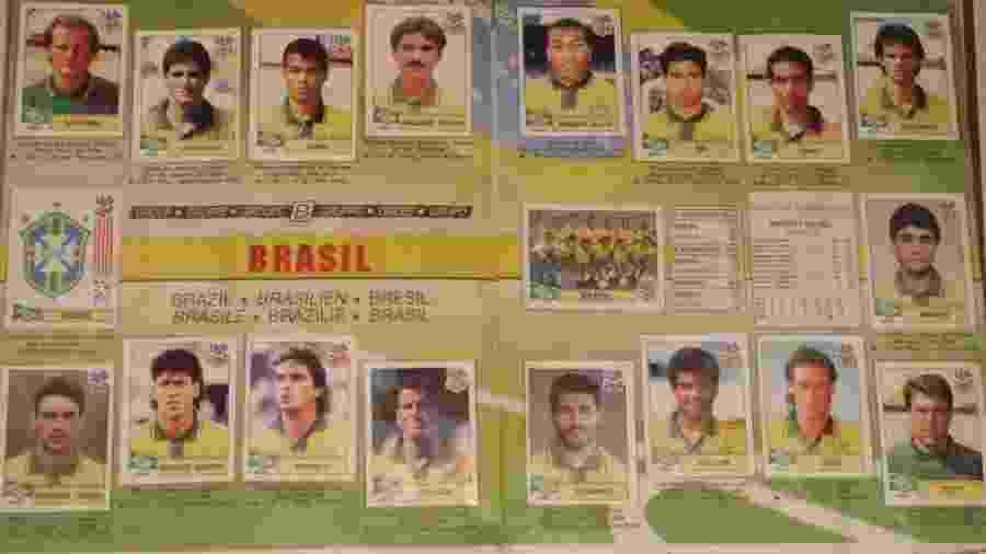 Figurinhas da Copa  Na internet bbc4d356e4418