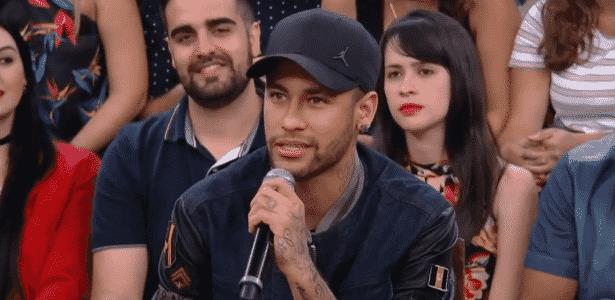 Neymar participa do programa 'Altas Horas' - Reprodução/TV - Reprodução/TV