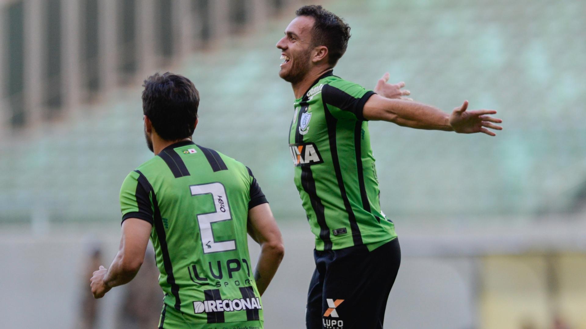 Serginho foi decisivo para o América-MG contra o Atlético-PR