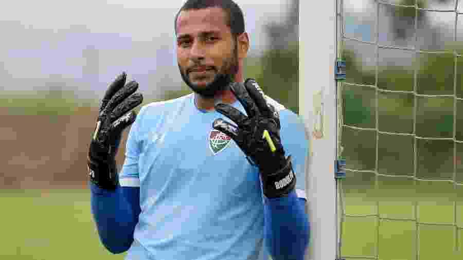 Goleiro Rodolfo foi flagrado por uso de cocaína em jogo contra o Atlético Nacional, pela Sul-Americana - Lucas Merçon/Fluminense