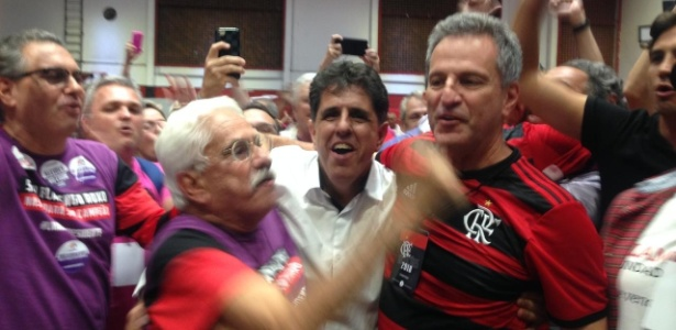 Rodolfo Landim é o novo presidente do Flamengo - Léo Burlá/UOL Esporte
