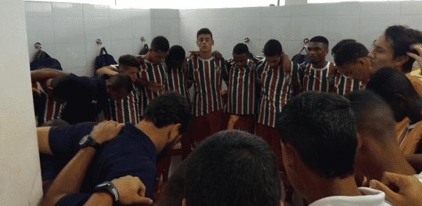 Fluminense perdeu para o Audax e foi eliminado da Copinha - Divulgação/Twitter