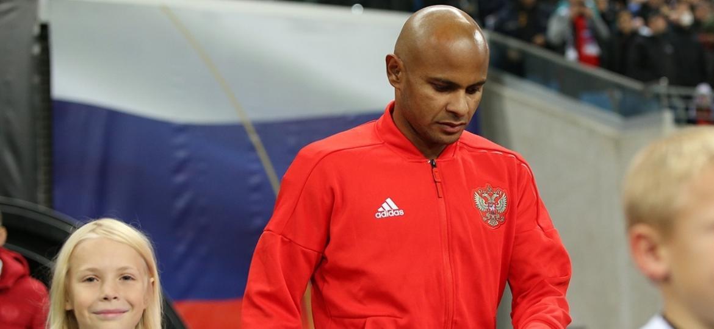 Ari, atacante da seleção russa e do Krasnodar, chegou ao país em 2010 e foi convocado para dois jogos - Divulgação/RFS