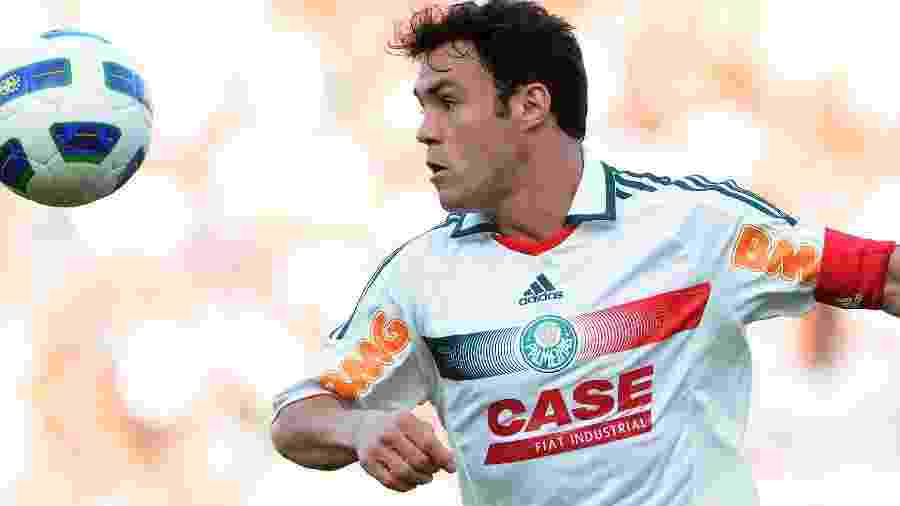 Kleber Gladiador em jogo do Palmeiras em junho de 2011 - Edu Andrade/LatinContent/GettyImages