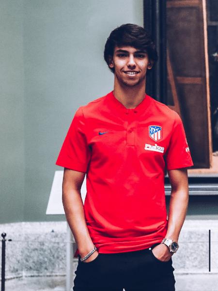 João Félix, jogador do Atlético de Madri - Reprodução/Twitter