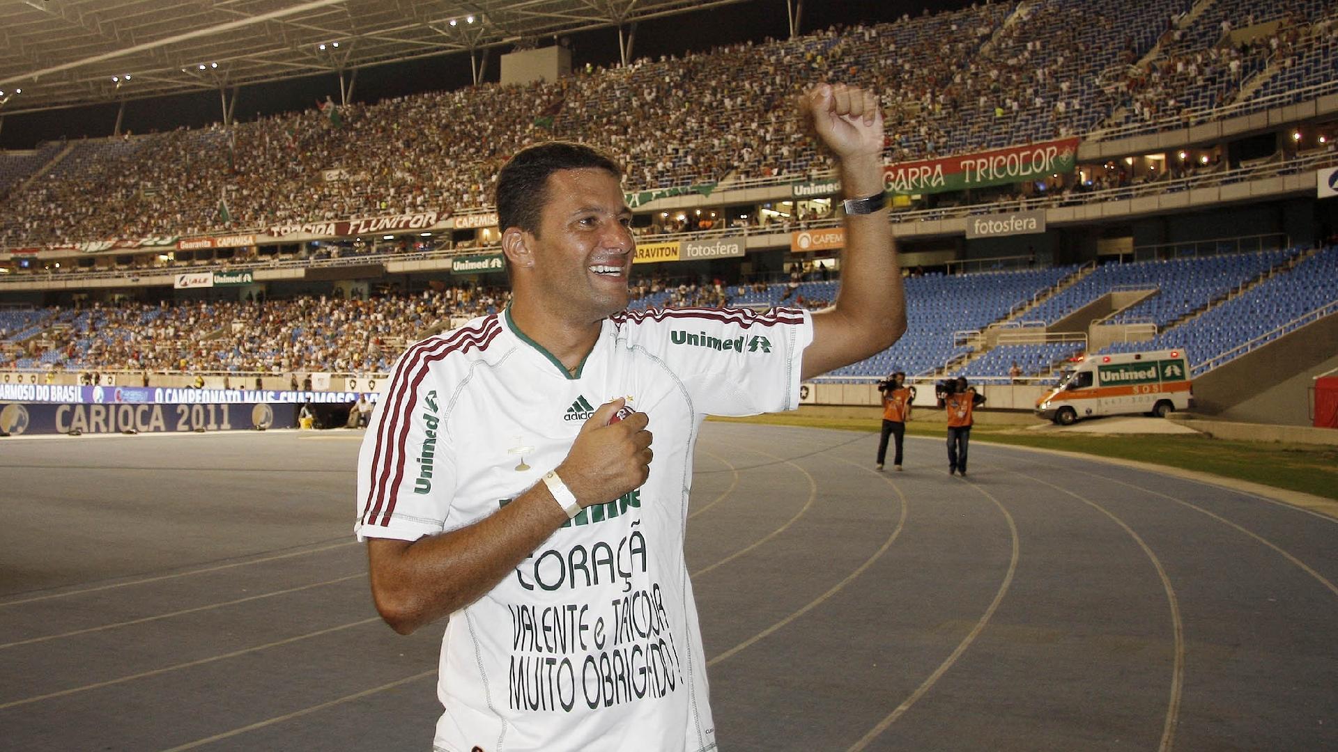 Washington se despede da torcida do Fluminense