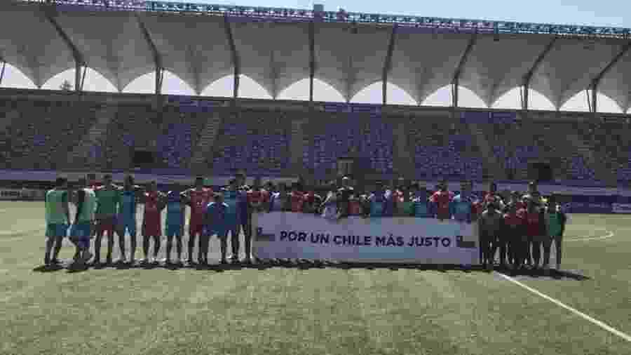 Campeonato Chileno retornou após mais de mês paralisado por causa de protestos no país - Reprodução/Facebook