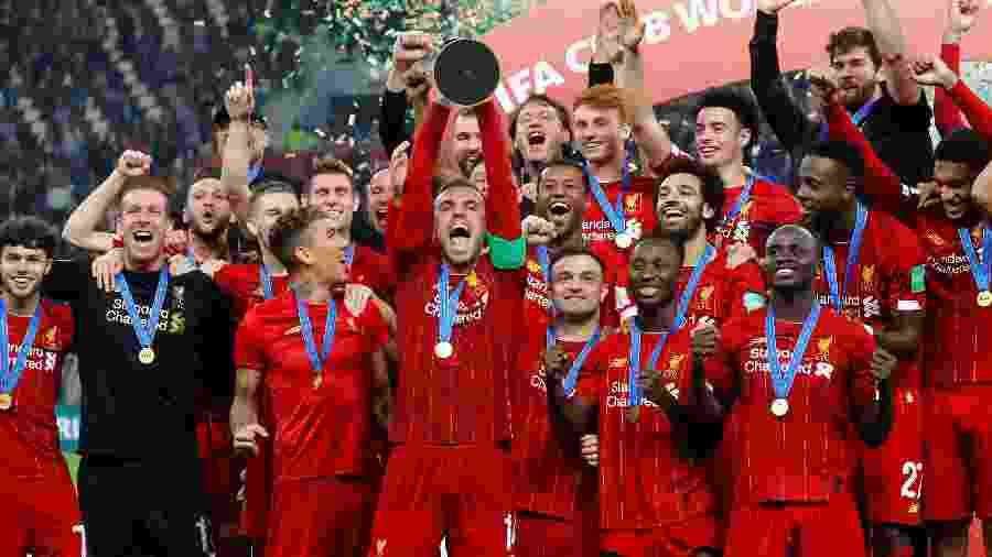 Campeão europeu e mundial, Liverpool foi o melhor time de 2019 segundo a IFFHS - Kai Pfaffenbach/Reuters