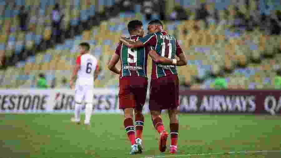 Evanílson e Marcos Paulo querem repetir história do Casal 20 no Fla-Flu - Lucas Merçon/Fluminense FC