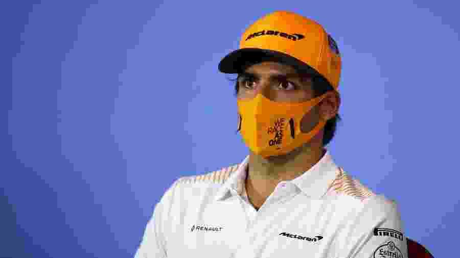 Carlos Sainz acredita em um bom GP da Hungria após nono lugar no GP da Estíria  - Bryn Lennon/Getty Images