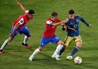 Falcao García marca no fim, e Colômbia empata com o Chile nas Eliminatórias - Getty Images