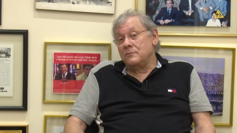 Milton Neves acusa ex-funcionário de ter desviado R$ 2,5 milhões - Reprodução/YouTube