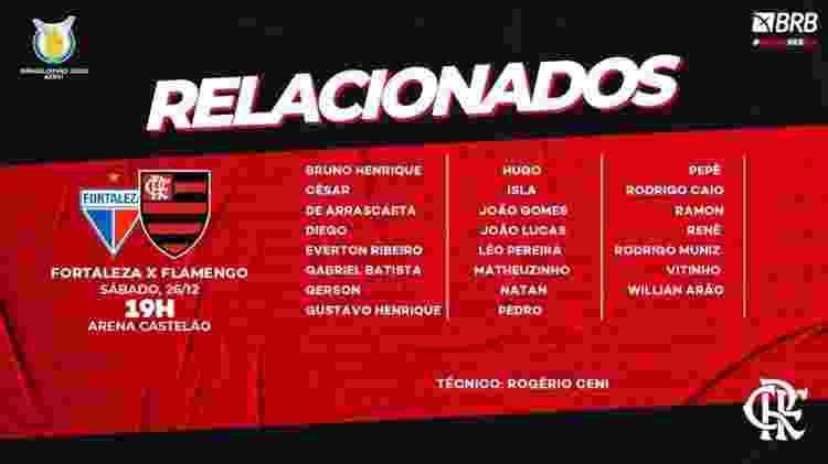 relacionados flamengo - divulgação/Flamengo - divulgação/Flamengo