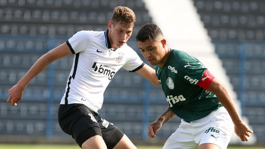 Pedro Bicalho é um dos que deve ganhar espaço no time principal do Palmeiras - Fábio Menotti/Palmeiras