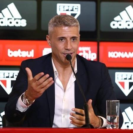 Hernán Crespo está livre para estrear no São Paulo - Divulgação/São Paulo FC
