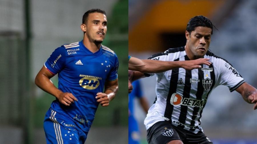 Pottker e Hulk continuaram a discussão até o corredor para os vestiários do Mineirão após o clássico - Fotos de Bruno Haddad/Cruzeiro