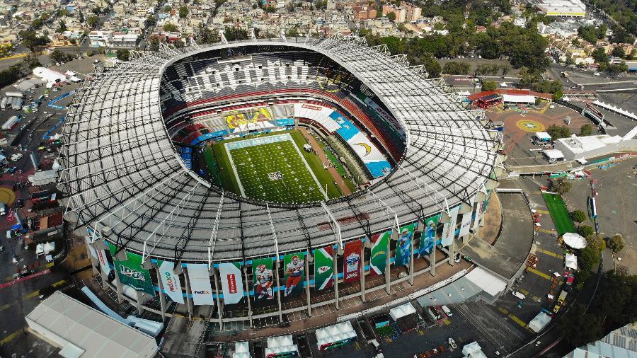 Estádio Azteca, no México, recebe jogos da NFL - Jam Media/Getty Images