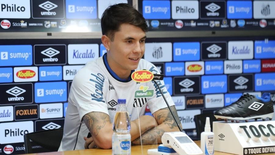 Zanocelo é apresentado no Santos - Ivan Storti