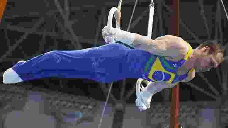 Arthur Zanetti disputará em Tóquio as Olimpíadas pela terceira vez - Ricardo Bufolin/CBG - Ricardo Bufolin/CBG