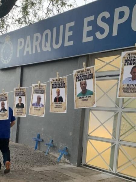 Cruzeiro vive forte crise de gestão por dívidas - Reprodução