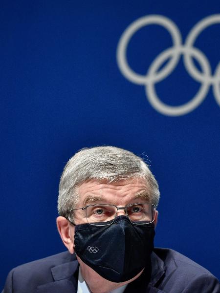 Thomas Bach, presidente do Comitê Olímpico Internacional (COI) - Fabrice COFFRINI / AFP
