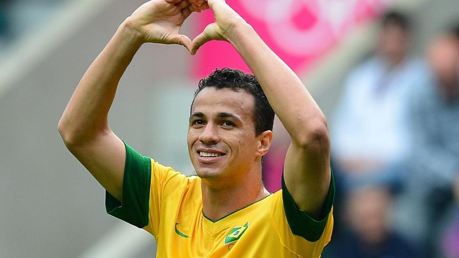 Leandro Damião foi o artilheiro dos Jogos Olímpicos de Londres-2012 - Nigel Roddis/Reuters