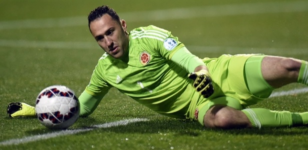 Ospina é titular da Colômbia na Copa América disputada nos E - AFP PHOTO / JUAN BARRETO