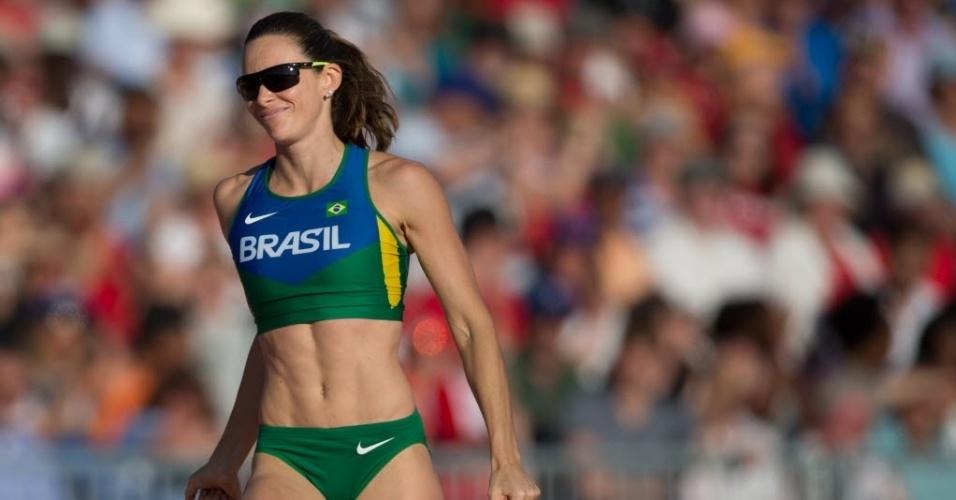 Fabiana Murer ficou com a prata no salto com vara dos Jogos Pan-Americanos