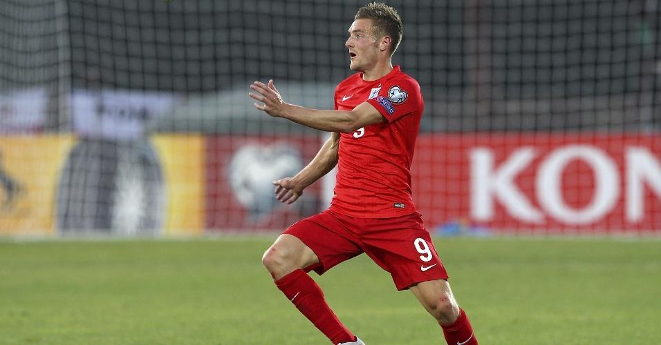 Jamie Vardy, atacante do Leicester City e da seleção inglesa