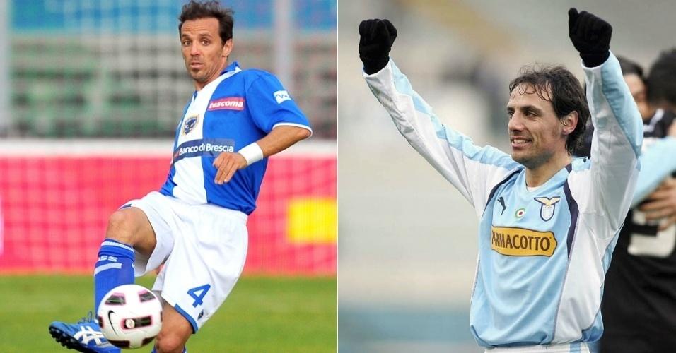 Antonio e Emanuele Filippini, jogadores de futebol italiano que são gêmeos