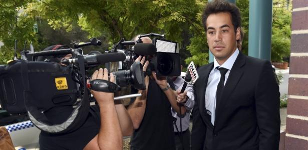 No meio do escândalo do tênis, o ex-atleta Nick Lindahl admitiu ter perdido de propósito em sua participação no torneio Toowoomba Futures, em 2013 - STRINGER/REUTERS