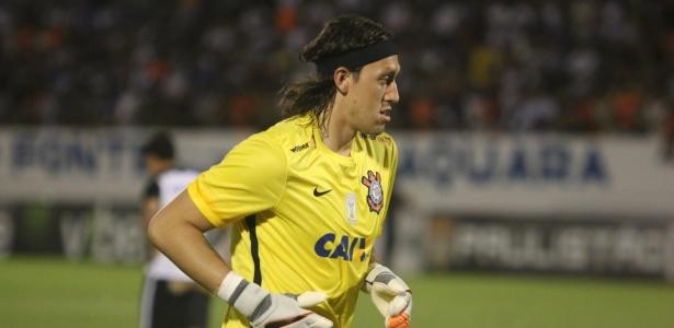 Cássio recebeu críticas do ex-goleiro corintiano Rubinho
