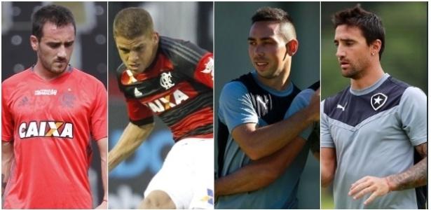 Flamengo teve melhor aproveitamento nas contratações de gringos que o Botafogo