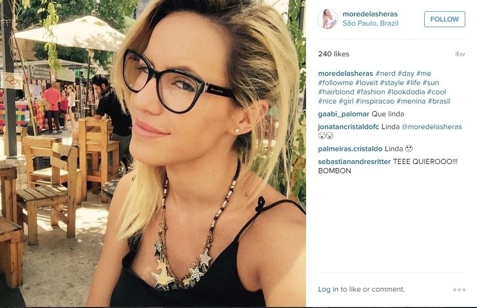 Morella é uma usuária assídua das redes sociais