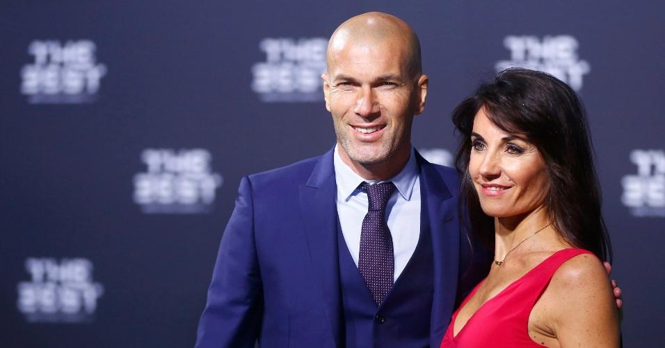 Zidane chega ao prêmio de Melhor do mundo da Fifa. O treinador do Real Madrid concorre ao título de melhor técnico do mundo