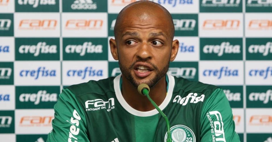 Felipe Melo careta Palmeiras coletiva