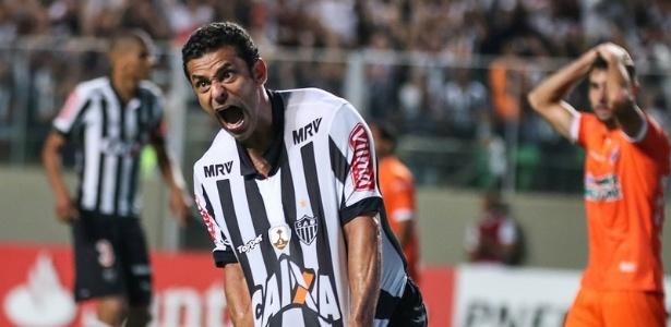 Fred vai enfrentar o Fluminense pela segunda vez com a camisa do Atlético-MG